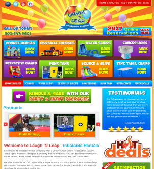 Laugh N' Leap Fun Inflatable Rentals SC